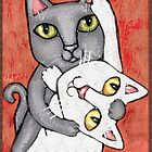 Cat Tango by Jamie Wogan Edwards