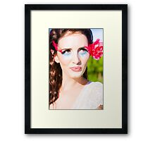 Thinking Romantic Thoughts Framed Print