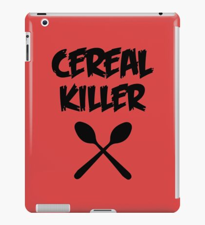 CEREAL KILLER (Muesli / cornflakes) iPad Case/Skin