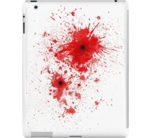 Blood spatter / bullet wound - Costume  iPad Case/Skin