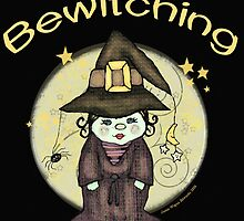 Halloween Bewitching Witch by Jamie Wogan Edwards