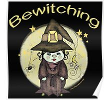 Halloween Bewitching Witch Poster