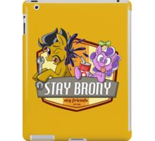 Stay Brony My Friends Garage iPad Case/Skin