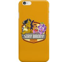 Stay Brony My Friends Garage iPhone Case/Skin