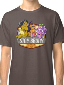 Stay Brony My Friends Garage Classic T-Shirt