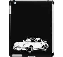 1980s Porsche 911/930 Turbo Hand Drawing iPad Case/Skin