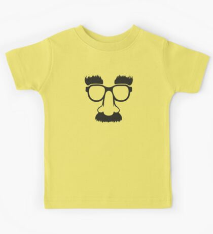Groucho mask - nerd glasses Kids Clothes