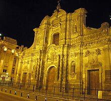 Iglesia La Compañia de Jesús by Donna R. Carter
