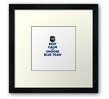 Halo Keep Calm Framed Print
