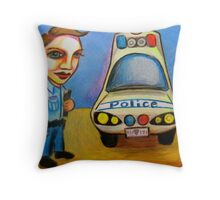 Collect Vehicle & Equipment, Check Same Throw Pillow
