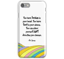 Oh The Places You'll Go! Quote iPhone Case/Skin