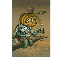 Pumpkid Photographic Print