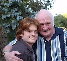 Grandpa Lex & Grandson Tom by adgray
