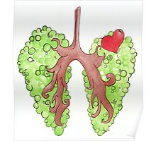 Go Green for Cystic Fibrosis Poster