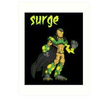 super villains: surge... Art Print