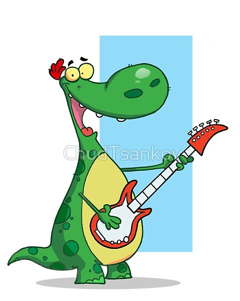 Guitar Dino by ChudTsankov