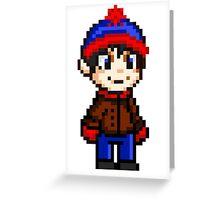 Stan Marsh Pixel Greeting Card