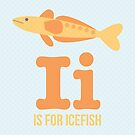 I is for Icefish by Amy Huxtable