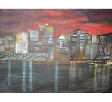 Montreal is Alive   /   true   joie de vivre   ( french ,   Joy of Living )        (  My Paintings )  Photographic Print