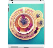 Lemon Tea iPad Case/Skin