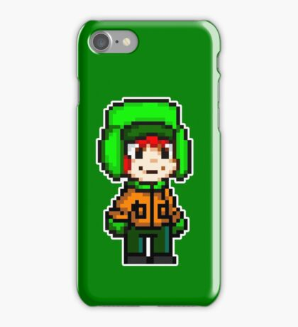 Kyle Broflovski Pixel iPhone Case/Skin