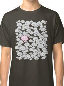 Kawaii Grey Little Clouds Classic T-Shirt