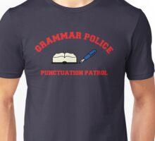 Grammar Police series: Punctuation Patrol Unisex T-Shirt