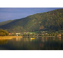 Pull a lone oar Photographic Print