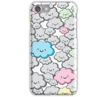Kawaii Little Colourful Clouds iPhone Case/Skin