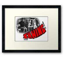 SHWING! Framed Print