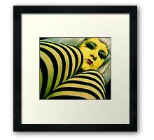 Lady Lemon Framed Print