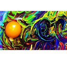 Oozing Rainbow Photographic Print