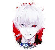 Tokyo Ghoul - Ken Kaneki (Ed Card) With Logo Photographic Print
