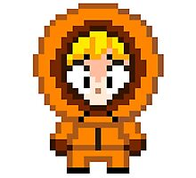 South Park Kenny McCormick Mini Pixel Photographic Print