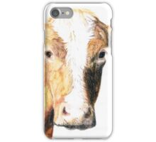 """""""Curious Cow"""" iPhone Case/Skin"""