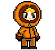 Kenny McCormick Pixel Photographic Print