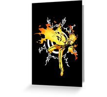 Sage Naruto Greeting Card