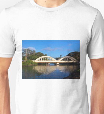 Haleiwa's Historic Bridge Unisex T-Shirt
