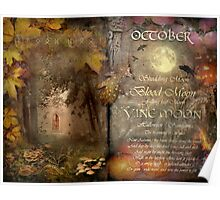 October - Vine Moon Poster