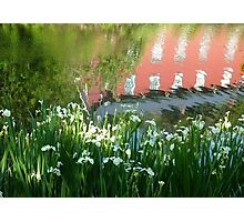 Abstract at Weisport Canal  Photographic Print