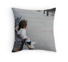 Street Baby Throw Pillow