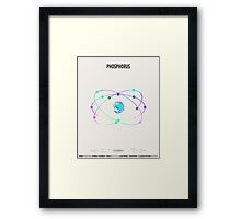 Phosphorus - Element Art Framed Print