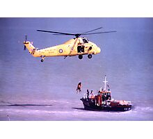 The Rescue, Broadstairs, Kent, 1980 Photographic Print