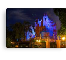 Welcome to the Haunted Mansion Canvas Print