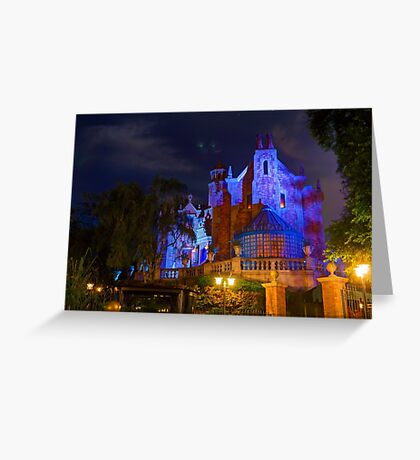 Welcome to the Haunted Mansion Greeting Card