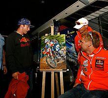 Tyla Rattray 2008 MX2 Motocross World Champion by robkinseyart