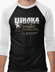 ZSU-23-4 Shilka Men's Baseball ¾ T-Shirt