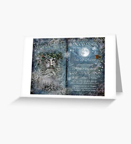 December : Reed/Elder Moon Greeting Card