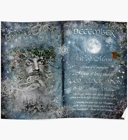 December : Reed/Elder Moon Poster