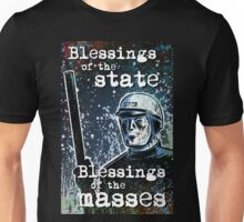 THX 1138 george lucas lucasfilm chrome robot 1970's science fiction sci fi police android hard sci fi Unisex T-Shirt
